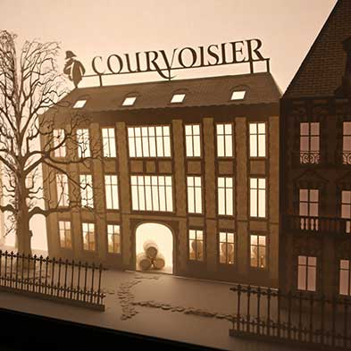 Courvoisier • Laser Cut Art